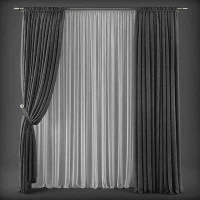 现代, 窗帘