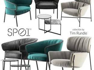 现代简约单人沙发椅1