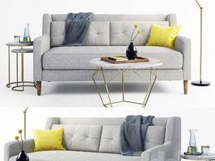 现代简约多人沙发15