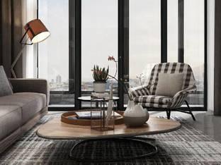 现代简约客厅3D模型
