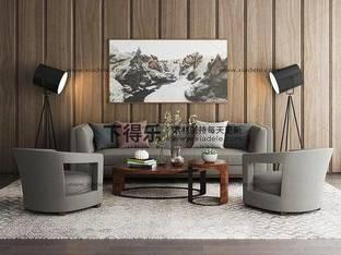 现代简约沙发茶几组合76