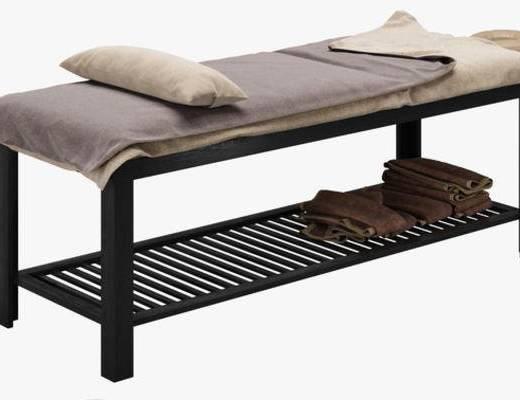 下得乐品牌模型库, 现代, 美容床