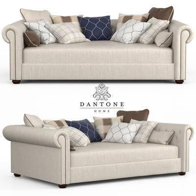 美式, 双人沙发, 沙发
