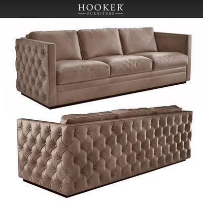 2000套高精3D单体模型, 美式, 多人沙发, 沙发