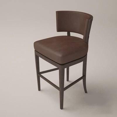 2000套国外模型, 美式, 吧椅, 椅子