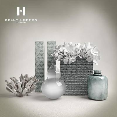 现代, 花瓶, 摆件