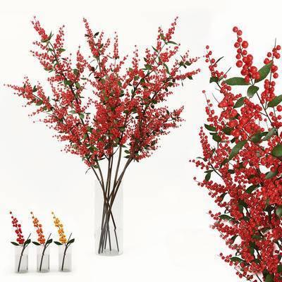2000套高精3D单体模型, 现代, 花瓶, 植物, 摆件