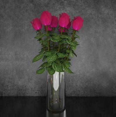 2000套高精3D单体模型, 现代, 花瓶, 摆件, 盆栽