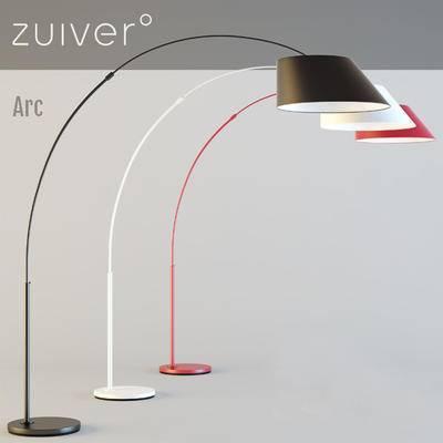 2000套高精3D单体模型, 现代, 落地灯, 灯饰
