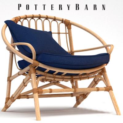 2000套高精3D单体模型, 现代, 藤椅, 单椅, 藤编椅子