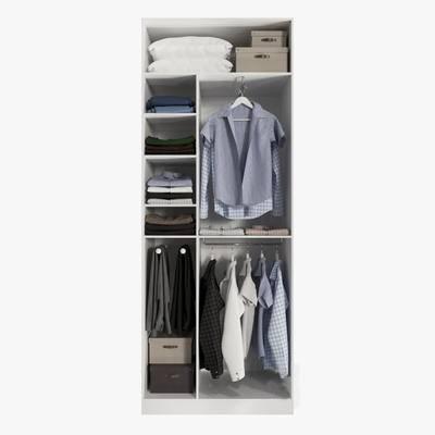 现代, 衣柜, 衣服