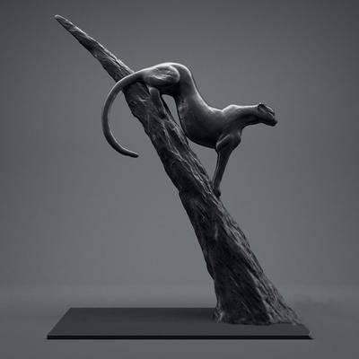 2000套高精3D单体模型, 现代, 雕刻, 摆件