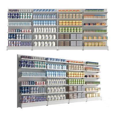 下得乐品牌模型库, 现代, 货架, 柜架
