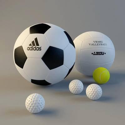 下得乐品牌模型库, 现代, 足球, 保龄球