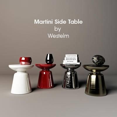 2000套高精3D单体模型, 下得乐品牌模型库, 现代, 茶几