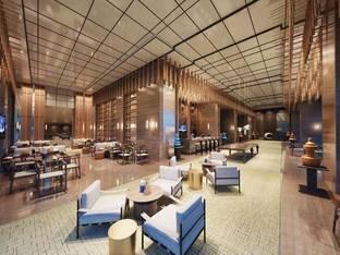 现代酒店会客区洽谈区休闲区_3d模型