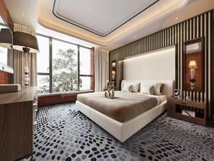 现代酒店客房3D模型_3d模型