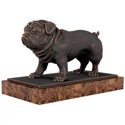2000套高精3D单体模型, 现代, 铜质雕刻, 摆件