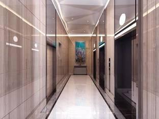 现代风格-电梯走道