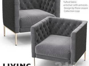 现代黑色单人沙发