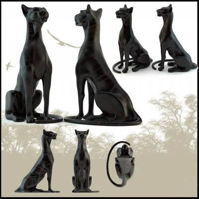 2000套高精3D单体模型, 现代, 雕塑, 摆件