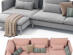 瑞典Ikea北欧转角沙发