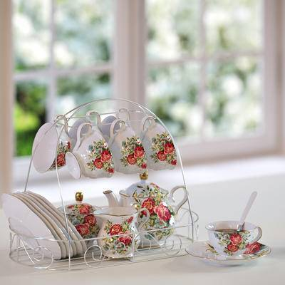 2000套高精3D单体模型, 简欧, 杯架, 咖啡杯, 餐具