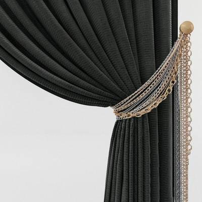 2000套国外模型, 简欧, 窗帘