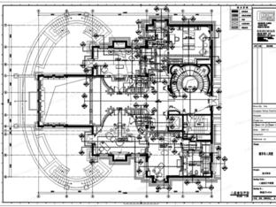 葛乔治设计-檀居私人别墅施工图+效果图