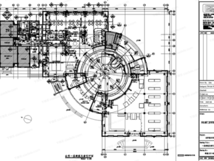 葛乔治-苏州豪门府邸欧式商业会所CAD施工图