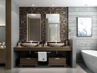 酒店客房浴室3D模型