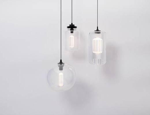 现代吊灯, 吊灯