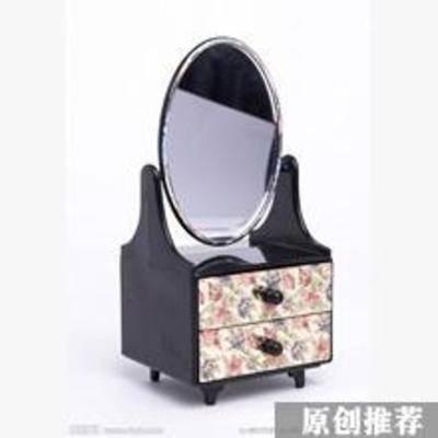 梳妆台, 田园梳妆台, 梳妆镜, 美式
