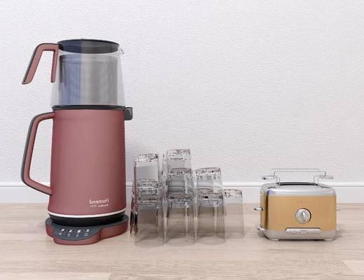现代榨汁机, 厨房电器, 榨汁机