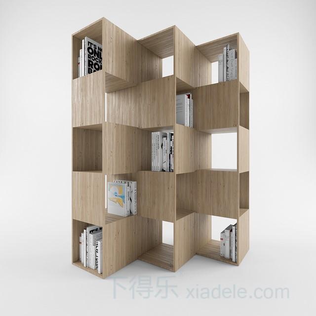 小鸟造型木质装饰柜