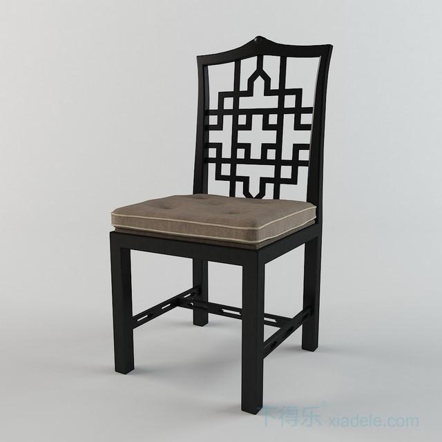 单体)新中式椅子31