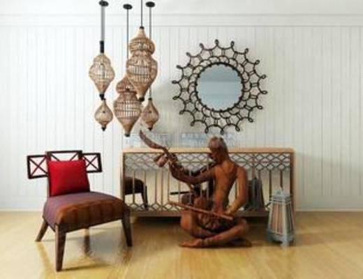 吊饰, 新古典风格, 墙饰, 装饰品, 创意, 模型, 椅子