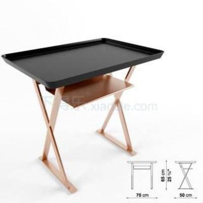 托盘, 方形桌子, 不锈钢, 咖啡桌, 现代简约, 欧式风格