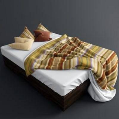 北欧现代, 双人床, 卧室家具, 床具