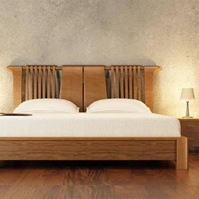 床具组合, 中式床, 平板床, 床