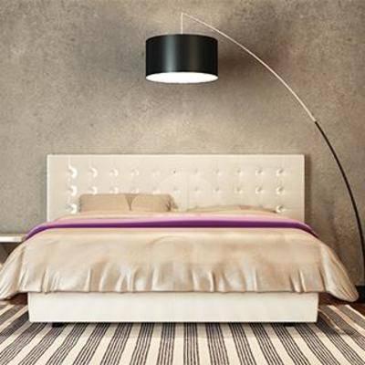 床具组合, 卧室组合, 简约卧室, 现代卧室, 卧室, 床