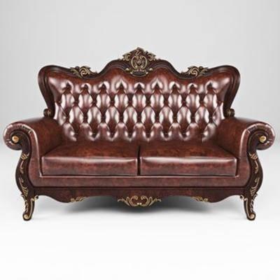 美式双人沙发, 美式古典, 美式沙发