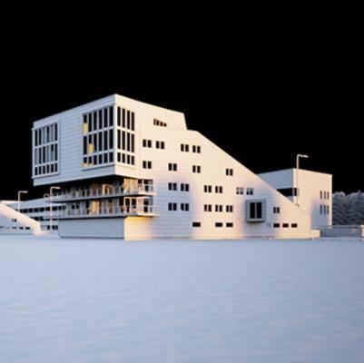 现代, 建筑