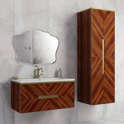 卫浴组合, 现代简约, 下得乐3888套模型合辑