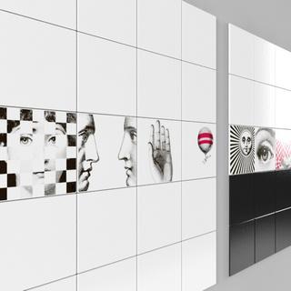 现代背景墙装饰画