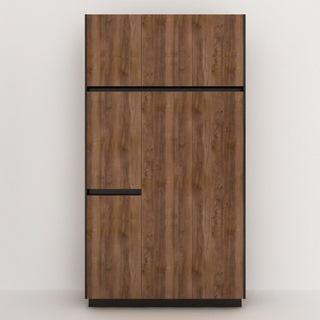 现代简约实木衣柜