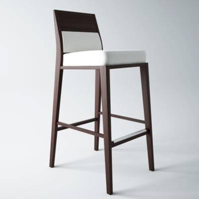 国外模型, 吧凳, 吧椅, 现代简约