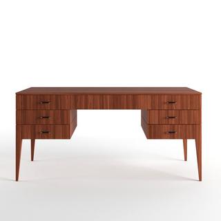 现代实木办公桌