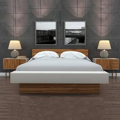 床具组合, 双人床, 现代简约