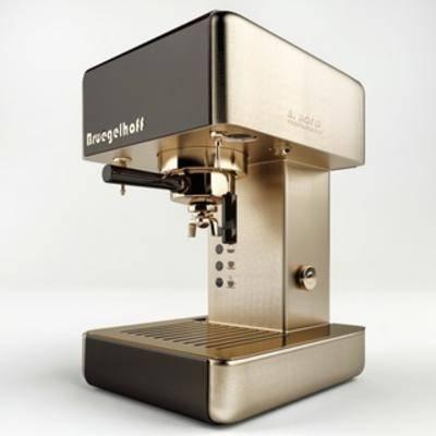 现代咖啡机, 咖啡机, 电器, 现代简约